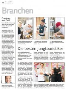 Kärntner Wirtschaft 03.02.2017 Tourismus