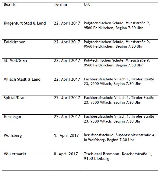 Tischler_Bezirkslehrlingswettbewerbe_2017