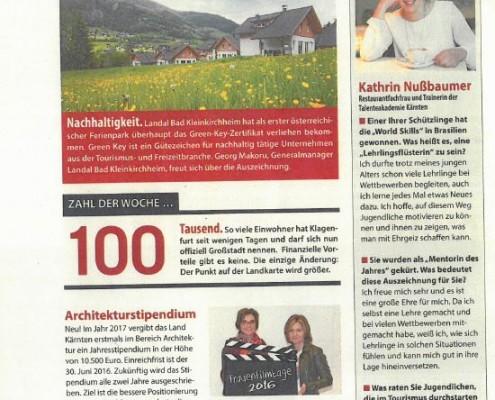 Weekend Magazin 04.03.2016 Tourismus