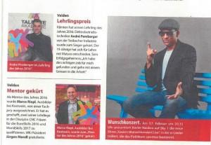 Weekend Magazin 17.02.2017 Lehrling des Jahres