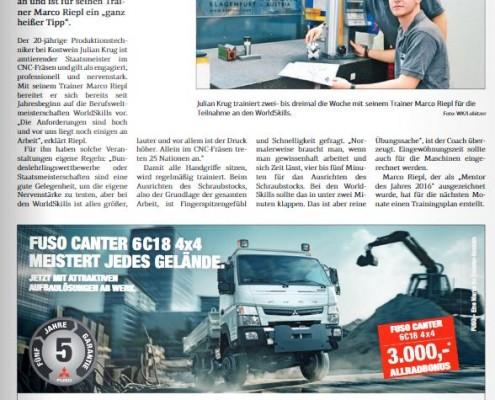 Kärntner Wirtschaft 17.03.2017 WorldSkills