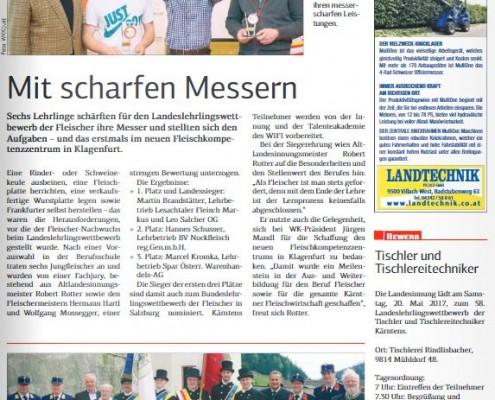Kärntner Wirtschaft 19.05.2017 Fleischer