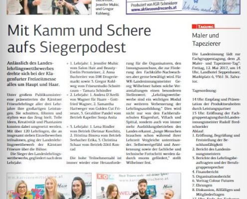 Kärntner Wirtschaft 21.04.2017 Frisöre