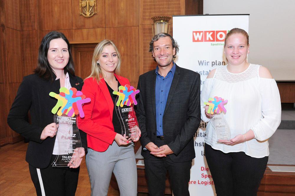 Lehrlingswettbewerb Spedition und Logistik Auszeichnung