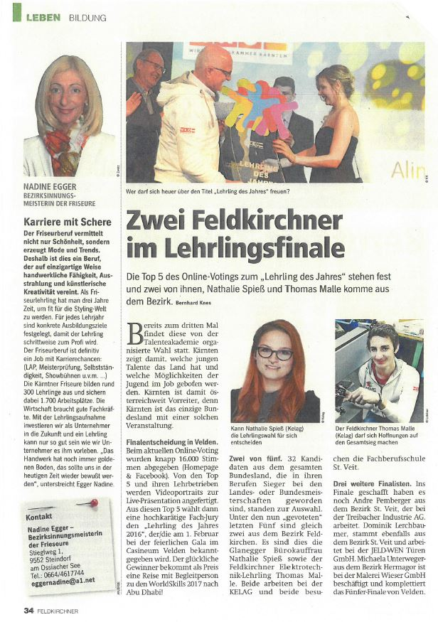 Regionalmedien 25.01.2017 Lehrling des Jahres (2)