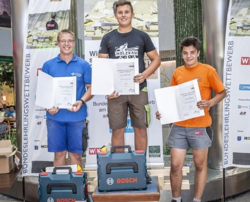 Bundes-Lehrlingswettbewerb Holzbau 29.06.2019
